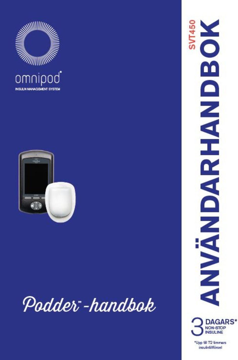 Cover on manual